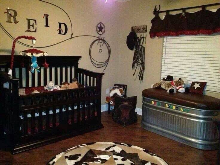 country baby room!