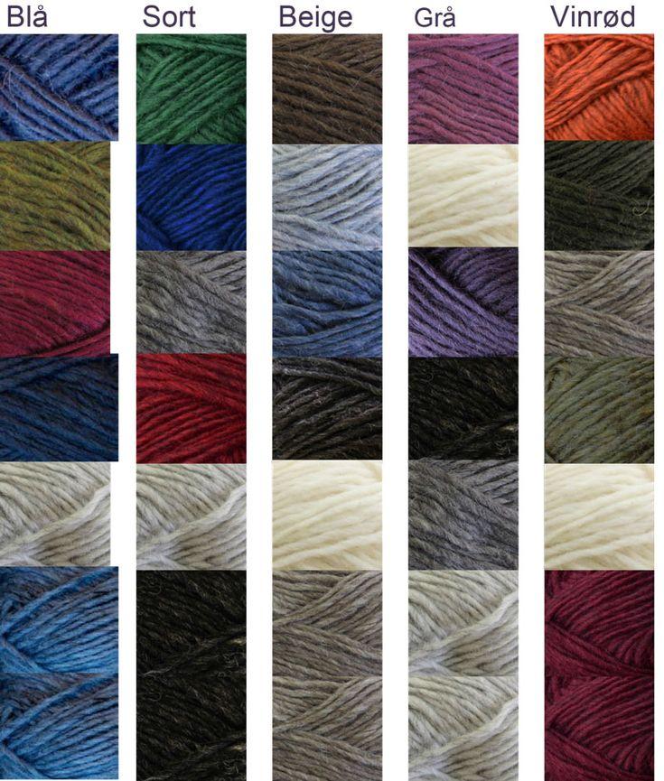 2813 Jakke i 6 farger str S - XL, L-XL, Grå (Produktdetaljer) [G. Birgirsdottir]