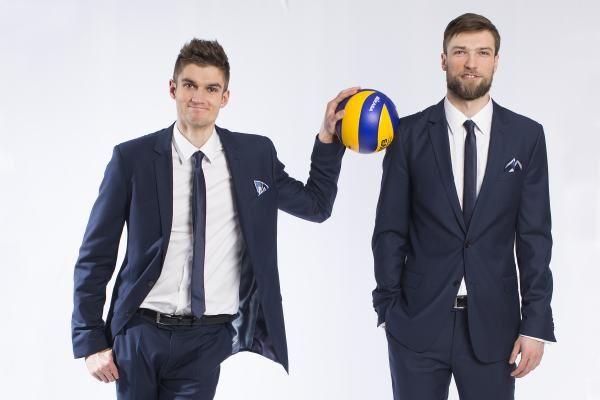 Karol Kłos i Andrzej Wrona