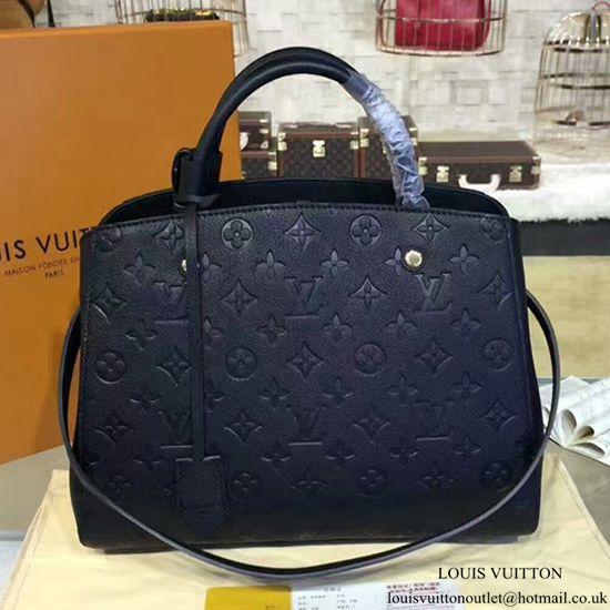 ea2c59dc Louis Vuitton M41048 Montaigne MM Tote Bag Monogram Empreinte ...