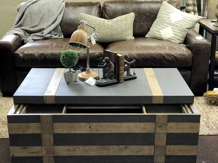 Living room design. Wood and Concrete Table. #concretetable #woodtable #coffeetable #livingroom