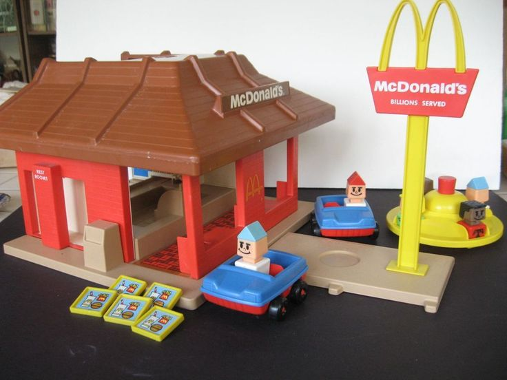 Playskool Toy Food : Best images about mcdonalds restaurant project on