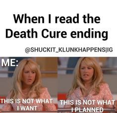 Just finished the Death Cure today - I thought the ending was alright though it could have been better