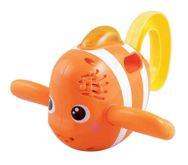 VTech Badespaß Fisch ~10 евро  Поющая игрушка для ванны, плавник мигает. Поет 2 песенки и много мелодий.