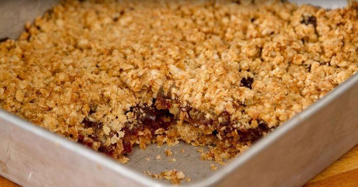 Une recette simple et rapide, des carrés aux dattes à manger sans modération!