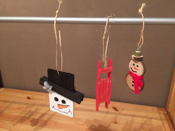 Weihnachtsdeko Holz