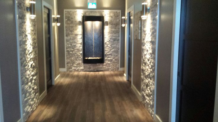 This is same corridor with the water feature added.