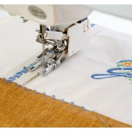 Check out the deal on 9mm Convertible Even Feed Foot, Janome #202137009 at Sewing Parts Online