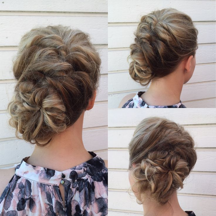 #wedding #updo #bride
