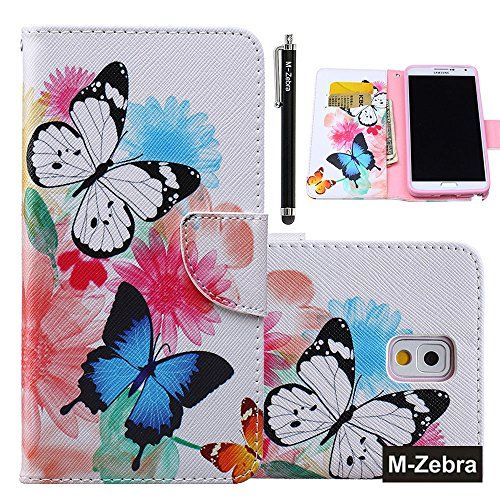 Note 3 Case, Galaxy Note 3 Wallet Case, M-Zebra Note 3 Wa...