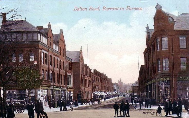 Dalton Road, Barrow in Furness  remembered from my childhood. uncle used to live in barrow