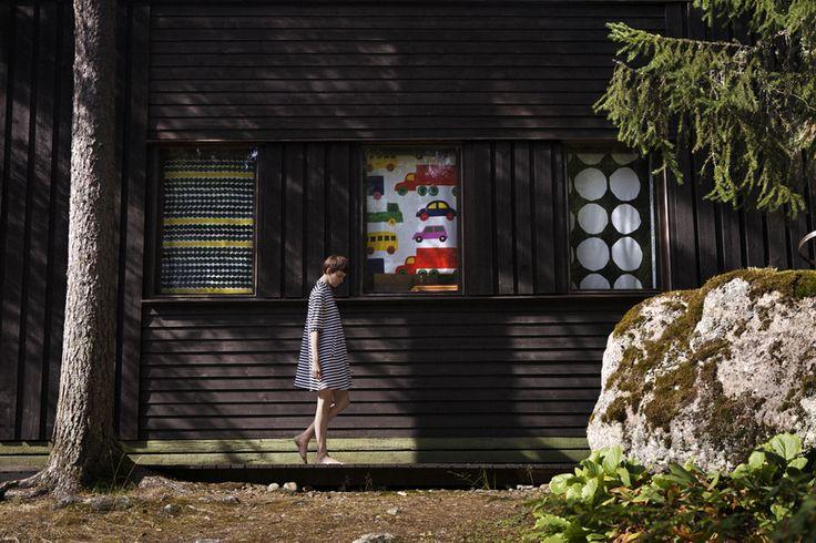 Marimekko Classics: Räsymatto (Rag rug), Bo Boo and Kivet patterns