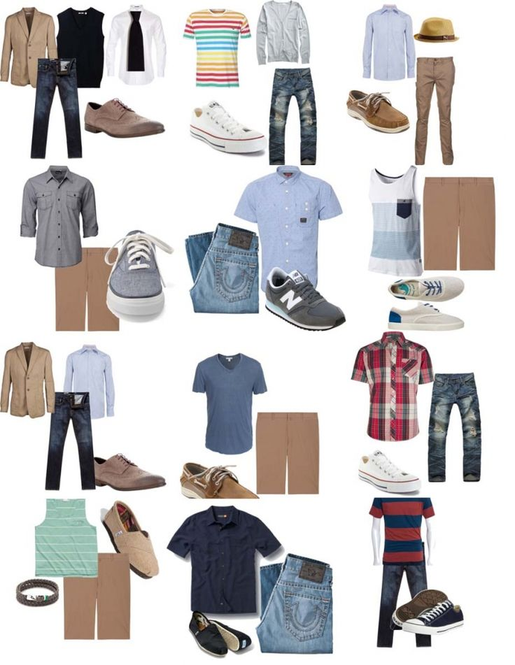 Senior what to wear guys