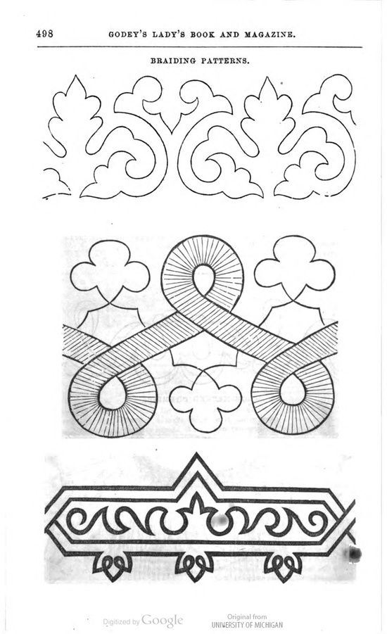 Modify soutache pattern to use for quilting?