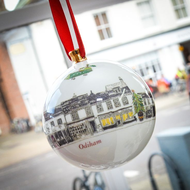 Christmas decorations and gifts available at The Frame Gallery, Odiham.