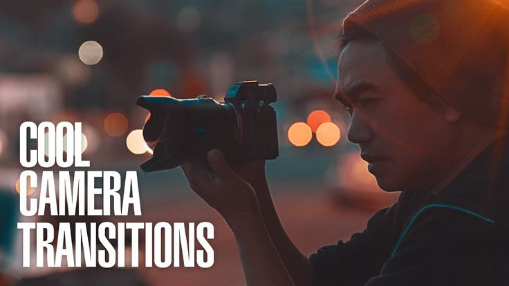 3 EASY CAMERA Movements to CREATE COOL TRANSITIONS for VIDEOS