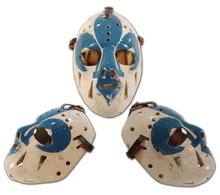 192 Best Old School Goalie Masks Images On Pinterest