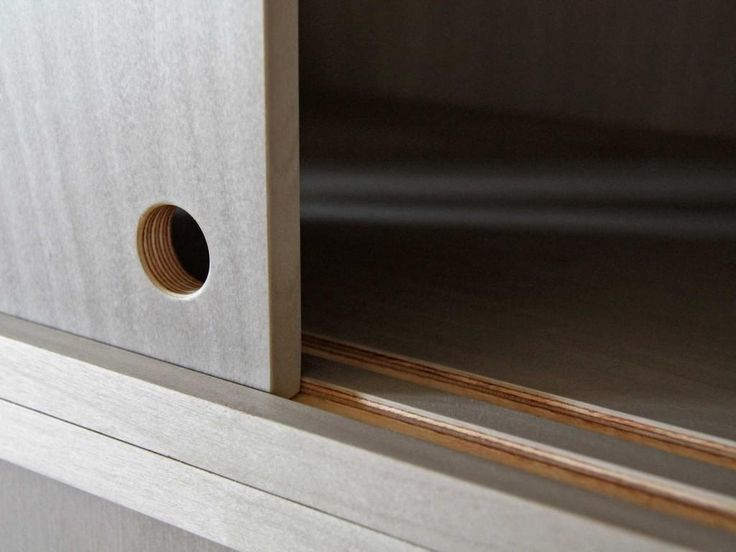 Kitchen Cabinet Sliding Door Track