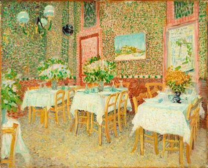 Exhibition 'Divisionism from Van Gogh and Seurat to Mondrian' in the Hiroshima Prefectural Art Museum.