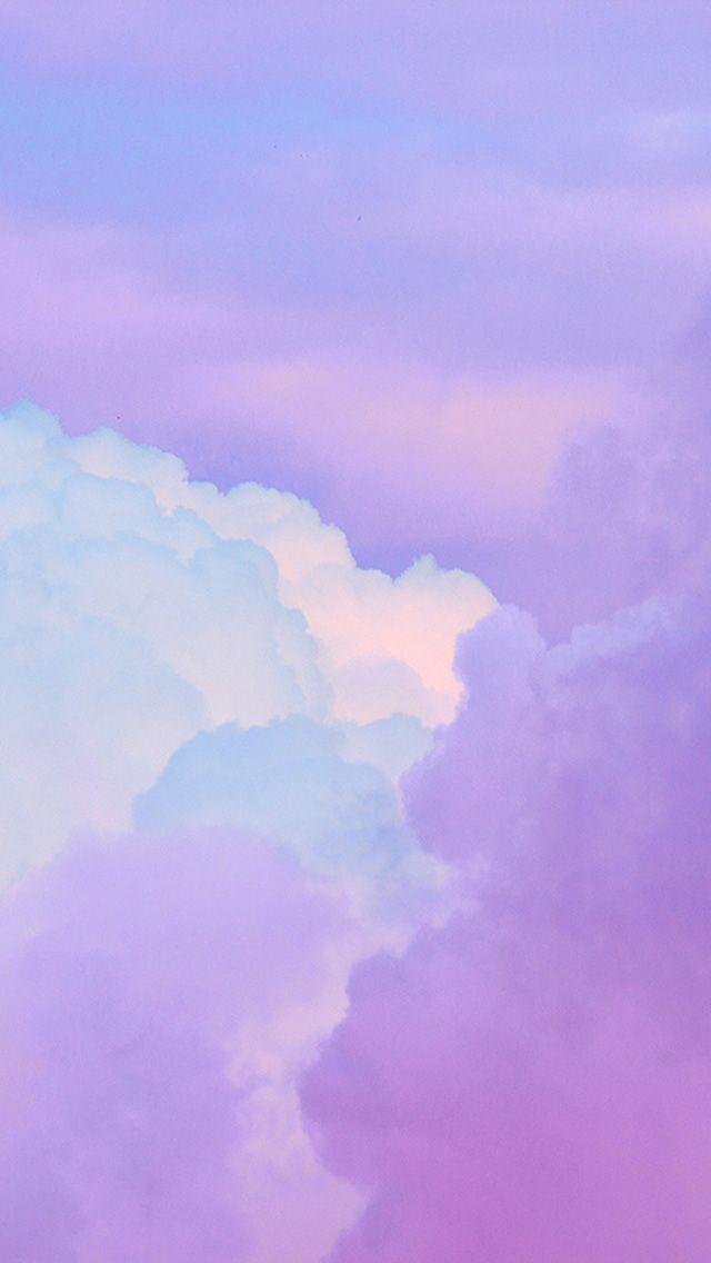 Bj18 Cloud Sky Purple Art Purple Wallpaper Iphone Light Purple Wallpaper Pink Wallpaper Iphone