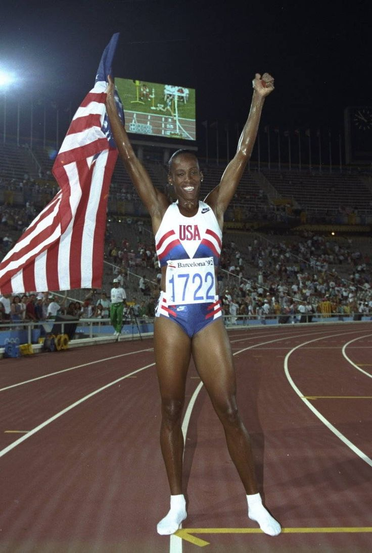 Jackie Joyner Kersee, born in East St.Louis, winner of six Olympic medals.