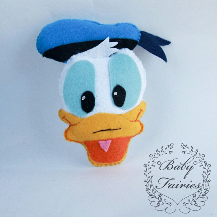 Mickey mouse clubhouse, Donald duck. Checkout baby_fairies on instagram & Baby Fairies creations Etsy shop for more handmade felt goodies
