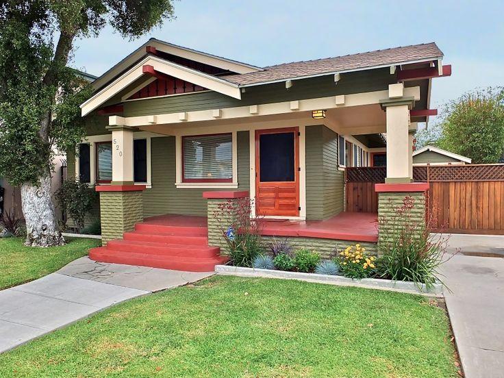Long Beach CA Craftsman ExteriorCraftsman BungalowsCraftsman