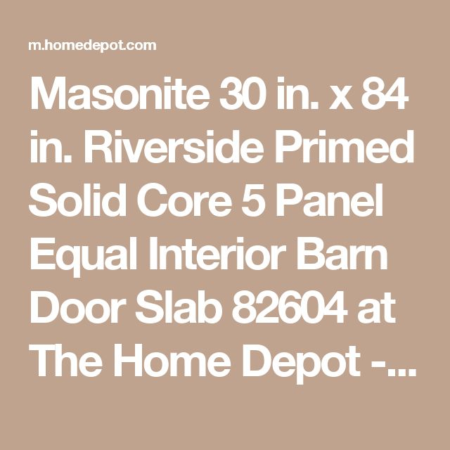 Masonite 36 In X 84 In Primed 3 Lite Equal Solid Wood: 25+ Best Ideas About Solid Core Interior Doors On