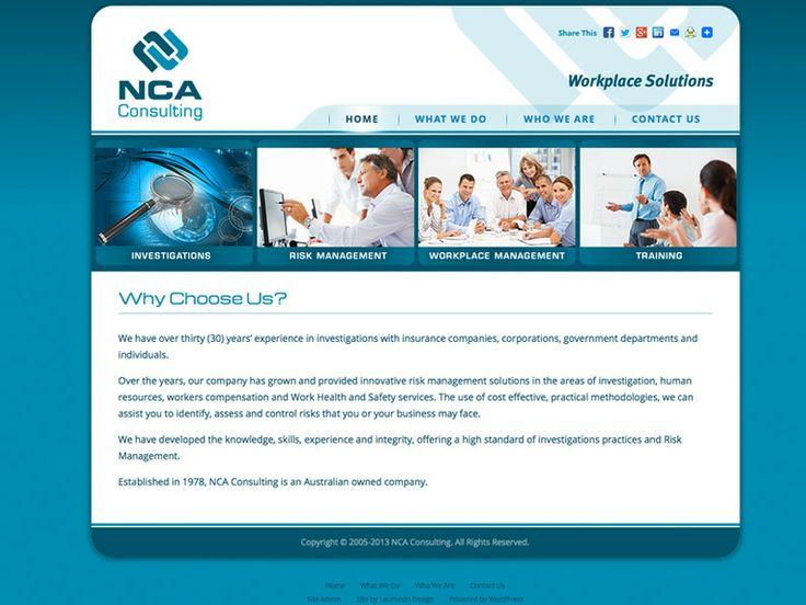 ncaconsulting.com.au - website transfer from Joomla to Wordpress - December 2014