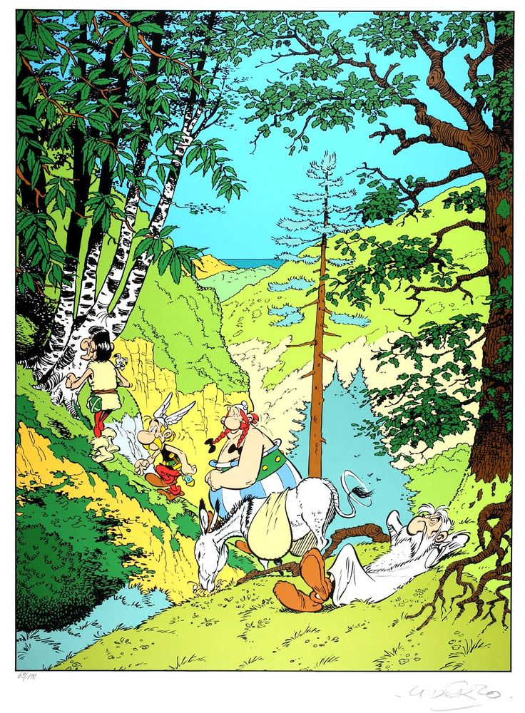 Alberto Aleandro Uderzo (French pronunciation: [albɛʁ ydɛʁzo]; Italian: [uˈdɛrtso]; born 25 April 1927) is a French comic book artist, and scriptwriter. He is best known for his work on the Astérix series and also drew other comics such as Oumpah-pah, also in collaboration with René Goscinny.
