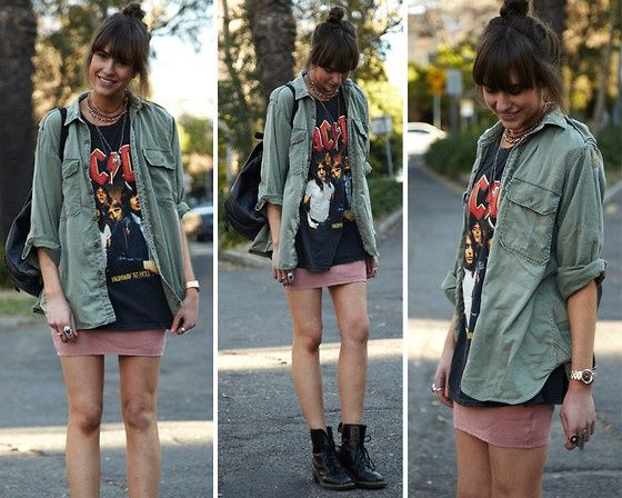Rock Style Fashion Outfit Inspirations - Glam Bistro