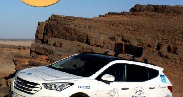 """En su décimo aniversario, El Desierto de los Niños 2014 ha tenido que colgar el cartel de """"Completo"""" un mes antes de su celebración. 60 vehículos y 200 personas compondrán la caravana de la décima edición de la aventura solidaria."""