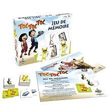 Gladius, Jeu de mémoire Toc Toc Toc. , 3+ ans. 14.99  Disponible en boutique ou sur notre catalogue en ligne. Livraison rapide au Québec.  Achetez-le info@laboiteasurprisesdenicolas.ca