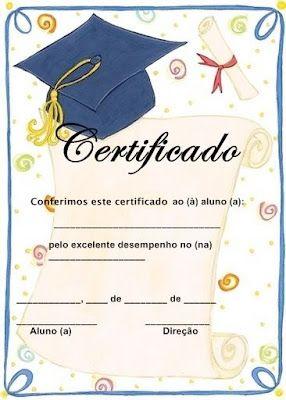 ESPAÇO EDUCAR: Modelos de Diploma para a Educação infantil!                                                                                                                                                     Mais
