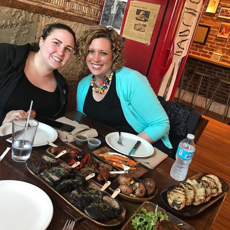 Celebrating Team Work of helping make the best naturally Curly Hair Salon grow!  @eat_gaucho  with @Danielle and @curlstylist @strategies4biz #girlboss #teamworkmakesthedreamwork #team  #goodfood #curly #lovethecurlsyourewith