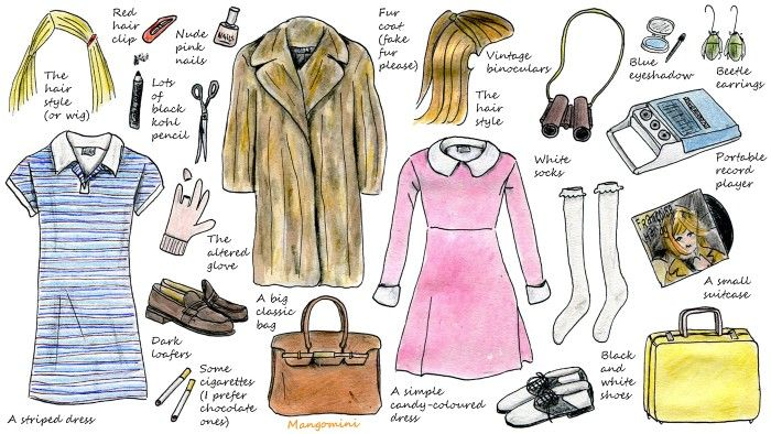 Wes Anderson inspired costumes for Halloween--Margot Tenenbaum & Suzy Bishop…