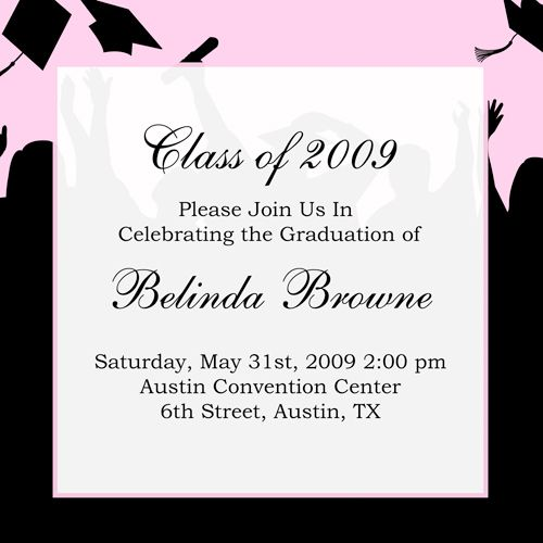 25+ unique Graduation invitation wording ideas on Pinterest - graduation invitation template