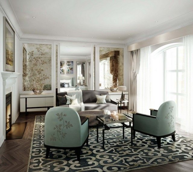 St-James-House-by-Top-London-Interior-Designer-Katharine-Pooley @katharinepooley interior design project, the best UK interiors inspirations | See more at http://brabbu.com/blog/2015/05/top-interior-designers-uk/