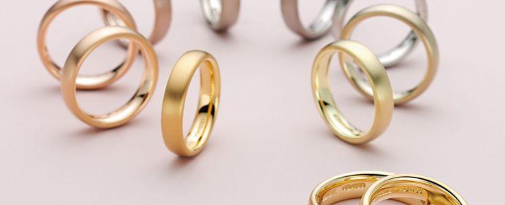 Einen Trauring trägt man nicht nur an der Hand. Man trägt ihn auch im Herzen. Wählen Sie genau die Ringe, die perfekt zu Ihrem Leben und Ihrer Liebe passen!