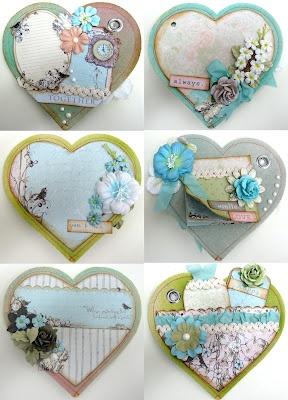 Heart Canvas Mini Album - http://www.donnadowney.com/shop/product.php?productid=2244=54=1