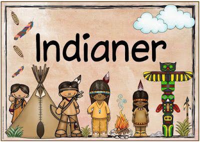 "Ideenreise: Themenplakat ""Indianer"""