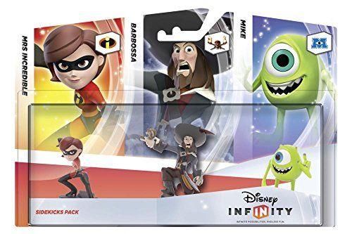 Namco Bandai Games Disney Infinity – Sidekicks Pack – figurines d'action et de collection (Bande dessinée, Multicouleur, Ampoule)