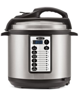 Bella 14467 6-Qt. Electric Pressure Cooker | macys.com