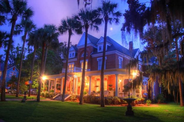 Immediately upon arriving on the veranda of Brunswick Manor, in the historic downtown area of Brunswick, Georgia, you will feel as though you have stepped back in time to a bygone era of distinguished charm. www.GoldenIsles.com