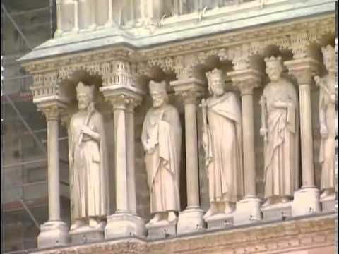 Готический Собор Парижской Богоматери (Нотр-Дам) - YouTube