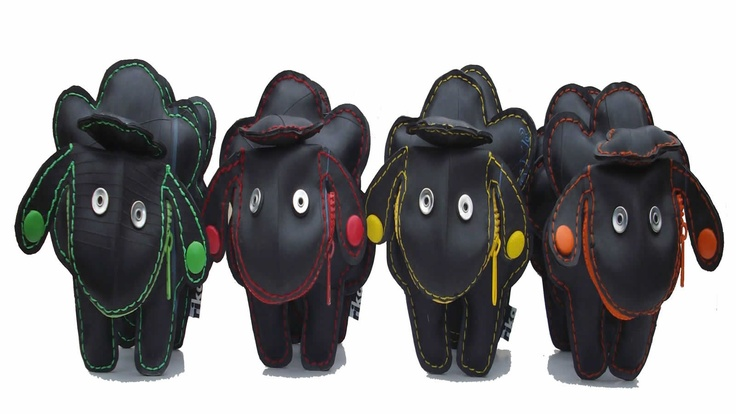 black sheep  from RIKA  reclaimed rubber