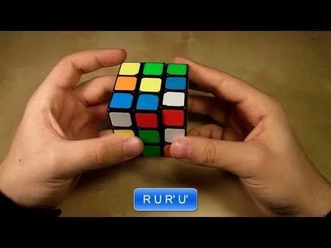 Πώς να λύσετε τον κύβο του Ρούμπικ Μέρος Β' - YouTube