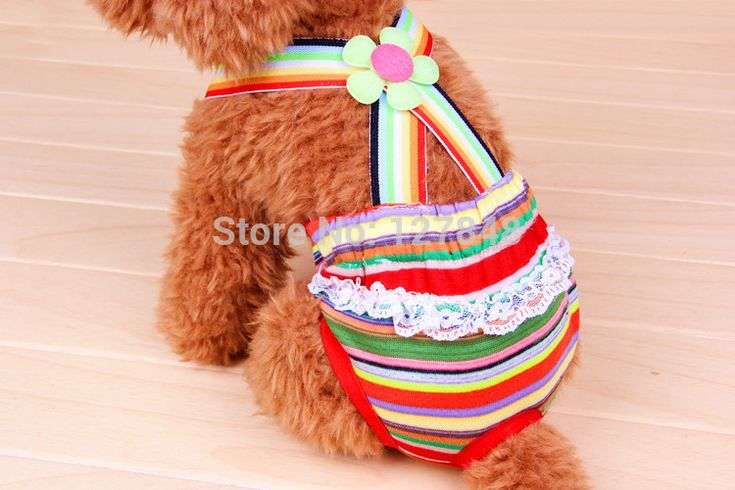 100 tightening cotton the dog physiological pants female small shorts pet panties menstrual pants bib pants