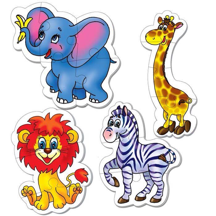 Цветные картинки с изображением животных единственный вид