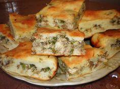 Вкусный пирог рыбный из заливного теста (на скорую руку)
